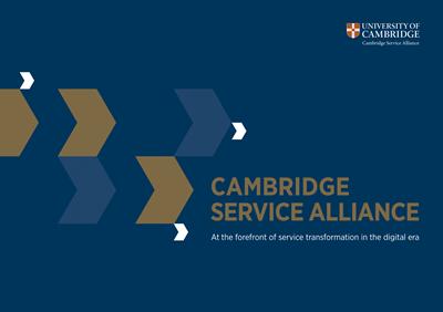 Cambridge Service Alliance brochure