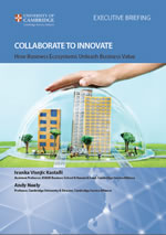2013 Collaborate to Innovate Cover