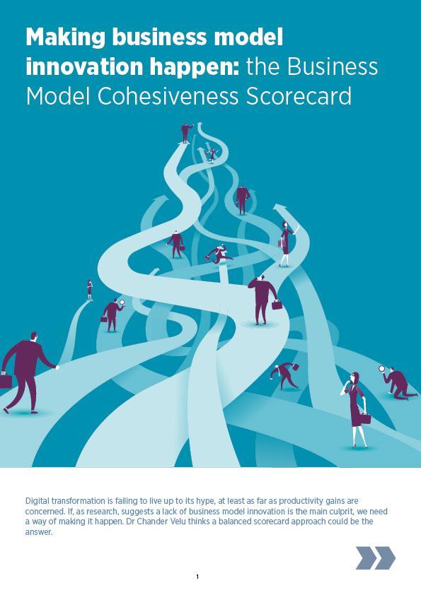 Business Model Cohesiveness Scorecard article cover web