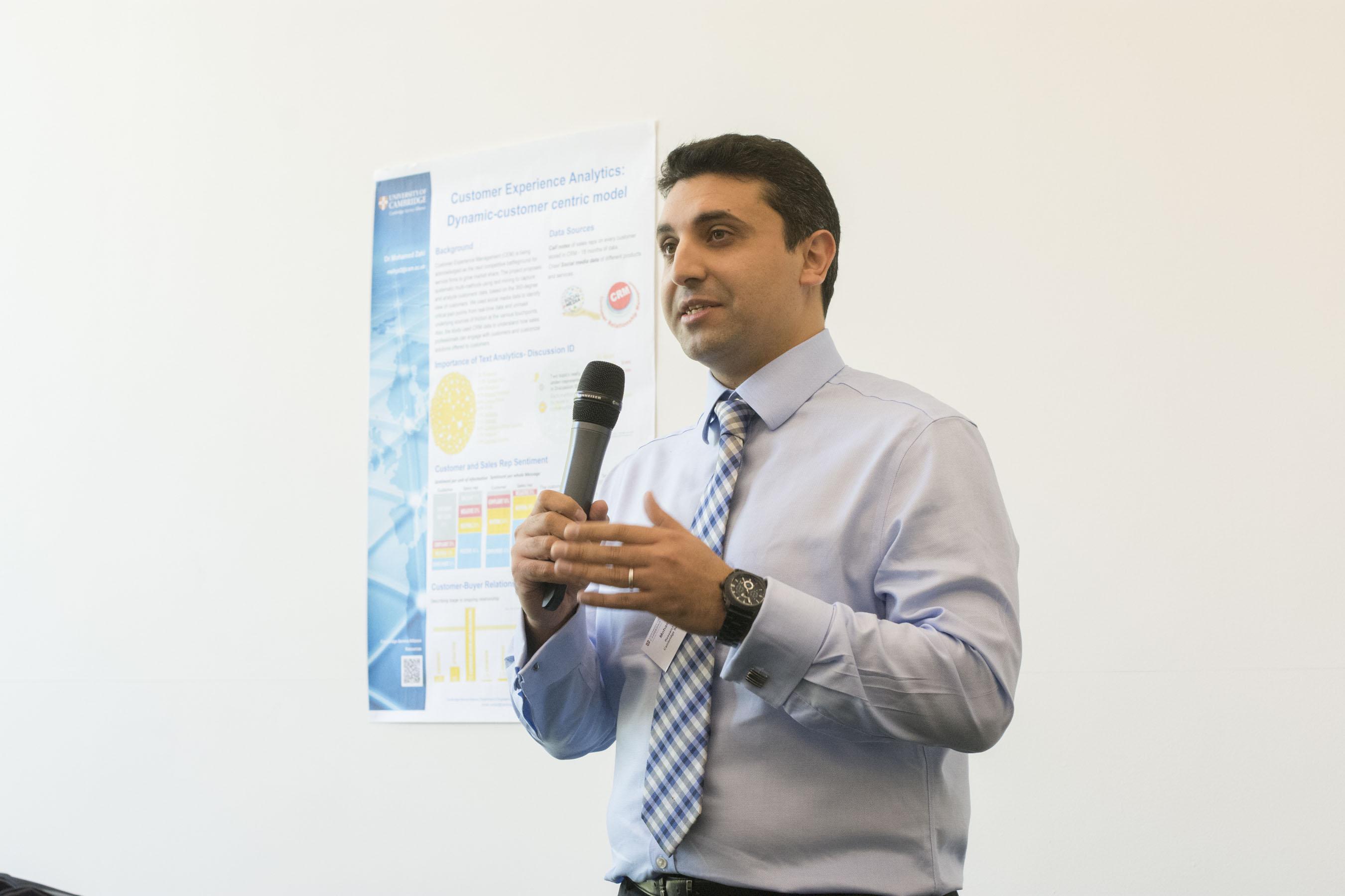 Customer Experience Analytics - Data Insights Cambridge Event