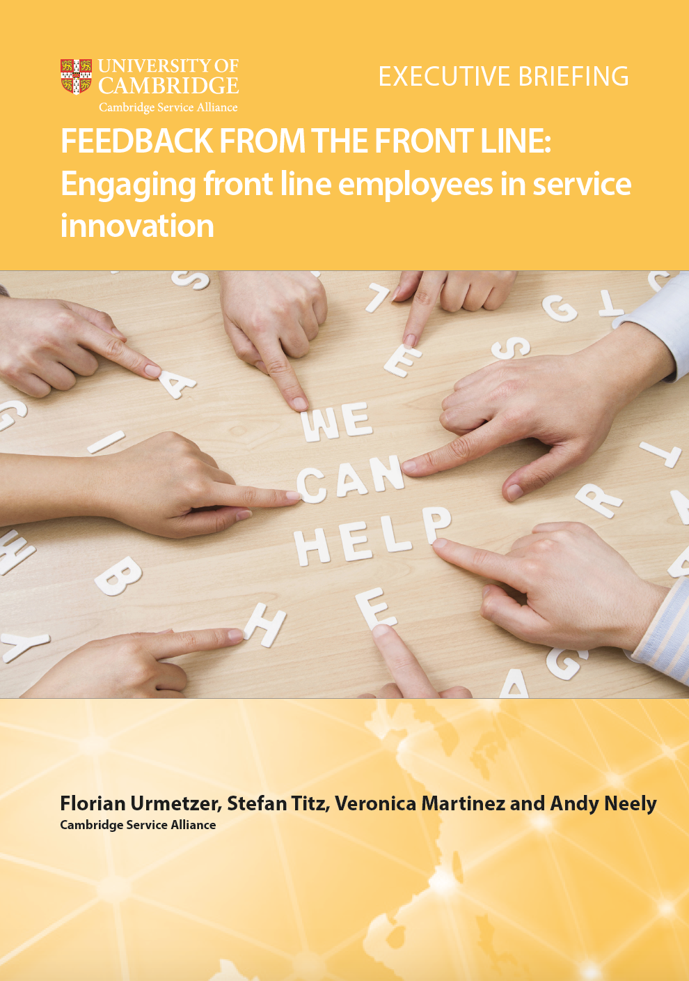 Feedback from the Frontline: Engaging front-line employees in service innovation