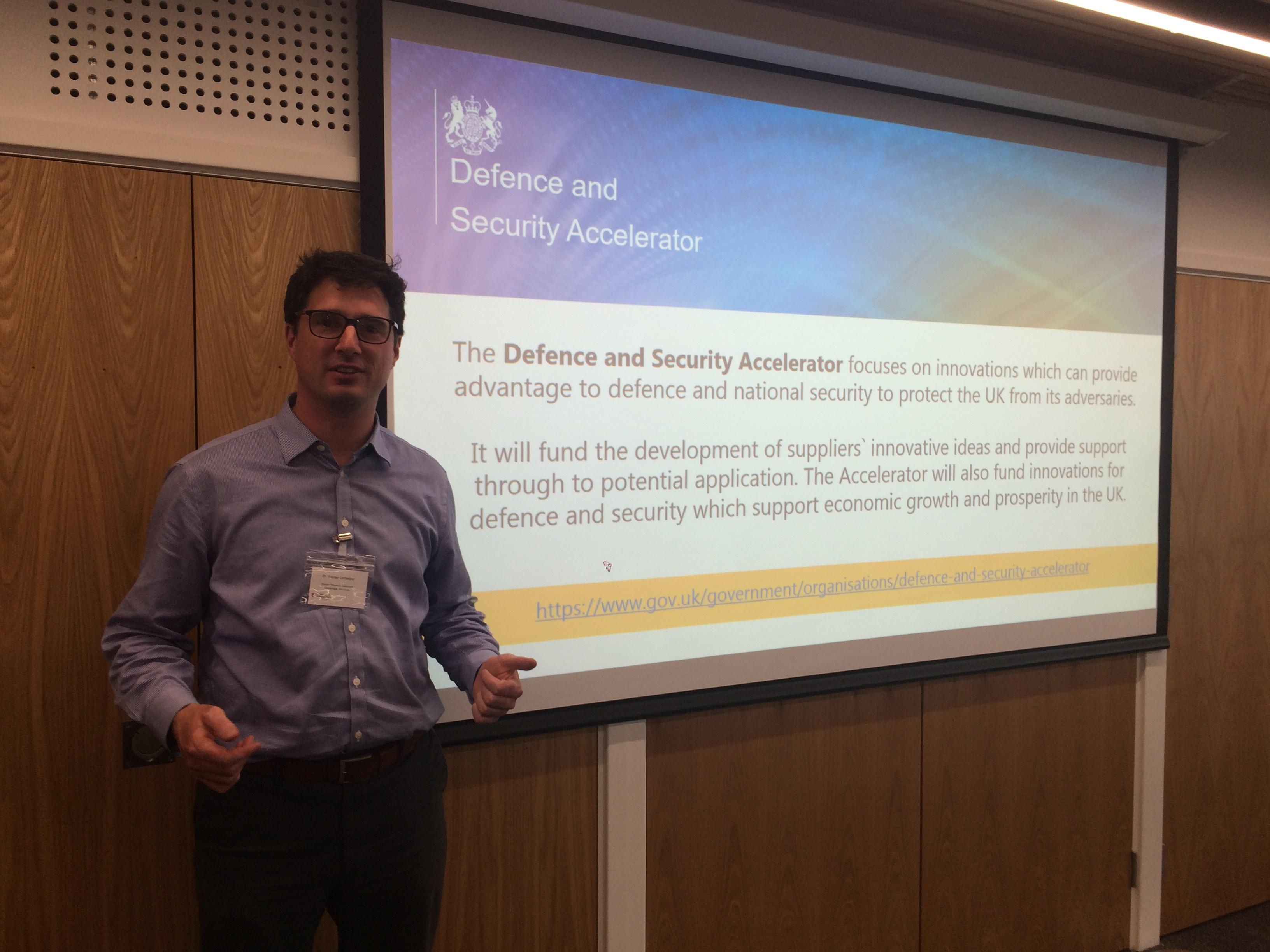 UK Defence and Security Innovation Initiative Event