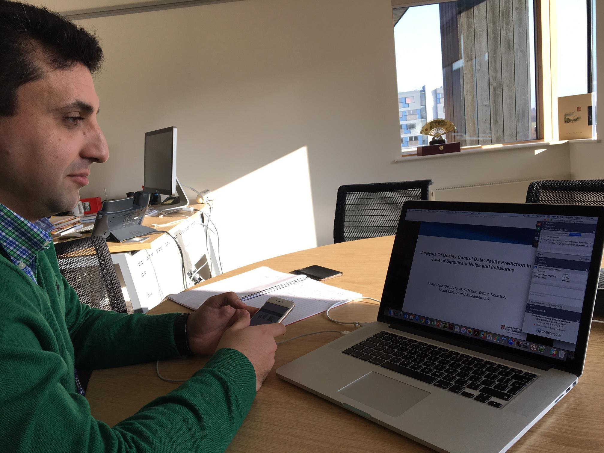 Webinar on Classification of Noisy Data