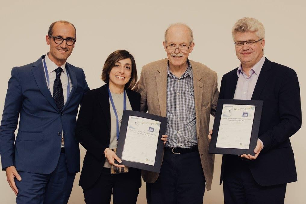 Paper Award for Ornella and Andy at EurOMA Conference