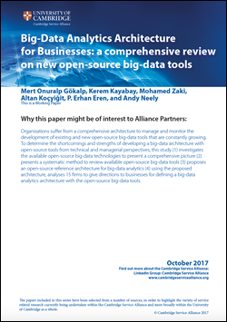 October Paper - Big Data Analytics Architecture for Businesses