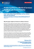 Product Safety in a World of Services: Through-Life Accountability
