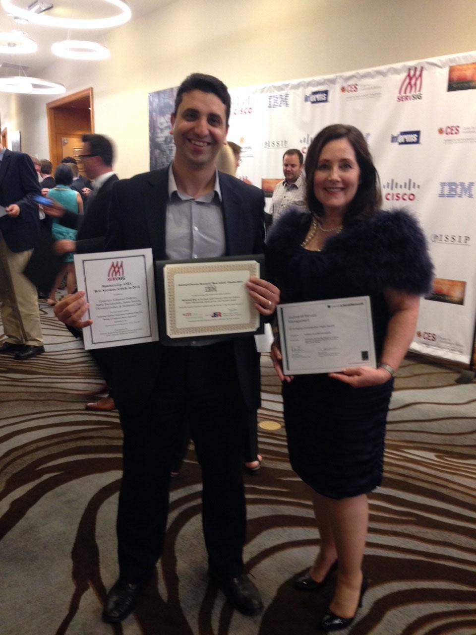 JSR Paper Awards for Mohamed Zaki