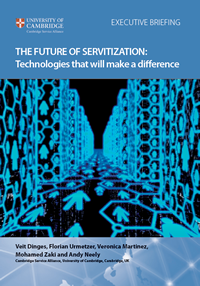 The Future of Servitization: Technologies that will make a difference