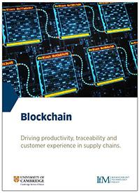 Blockchain: driving productivity, traceability and customer experience in supply chains
