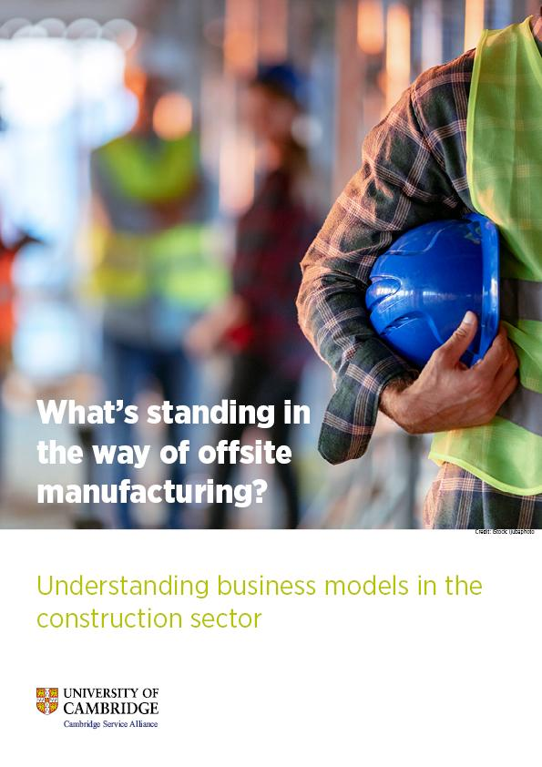 Understanding business models in the construction sector