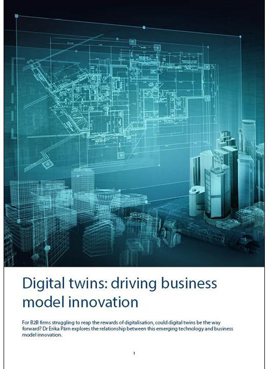 Digital twins: driving business model innovation